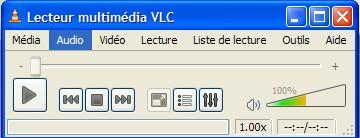 Ecran principal VLC 0.9.2