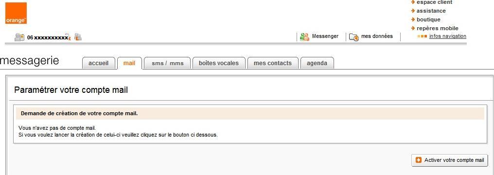Orange] Créer une adresse mail grâce à sa ligne GSM pour envoyer ...