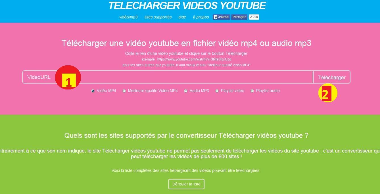 télécharger une vidéo youtube dailymotion ou autre